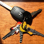 Guitar-shaped 'Rockin' Keys' could be the house keys to your heart