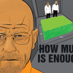 Counting Walter White's gigantic cash stash [INFOGRAPHIC]