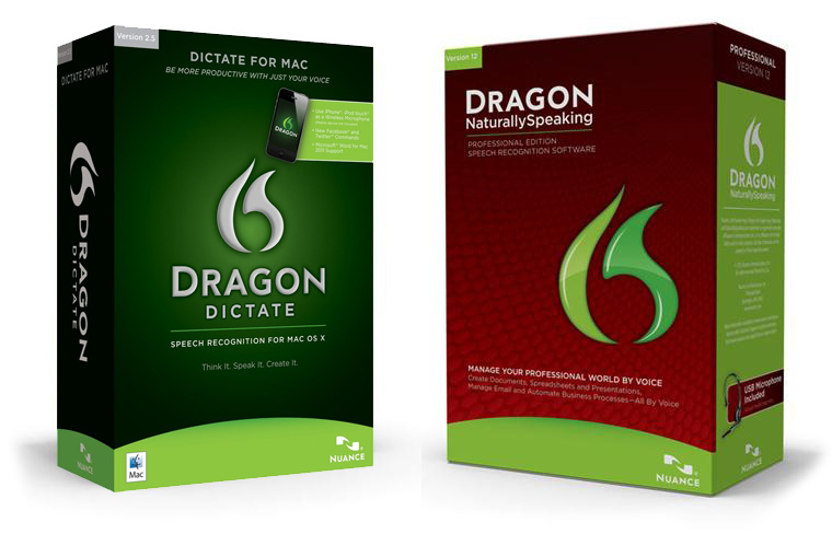 Dragon NaturallySpeaking or Dictate