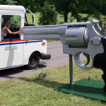 .44 magnum mailbox will be the funniest thing you see all day