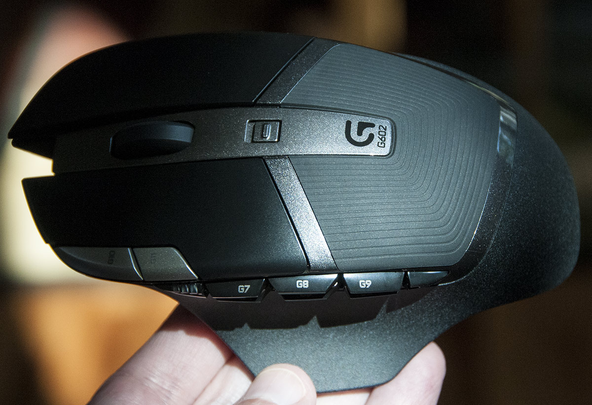 Logitech G602 wireless mouse might even satisfy hard-core gamers ...