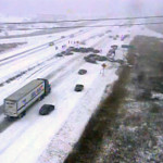 Cautionary tale: Sudden snowstorm causes massive 70-car pileup [VIDEO]