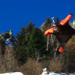 Wingsuit daredevil flies inches above the ground [VIDEO]