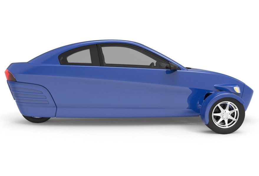 wheeled Elio car costs $6,800, available in 2015 [PICS]