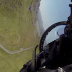 Take a thrill ride in a jet flying way too close to the ground [VIDEO]