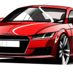 Car porn: 2015 Audi TT teased for upcoming auto show