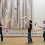 Juggling wizardry is a metaphor for multitasking [VIDEO]