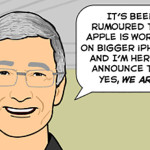 Could THIS be the new bigger iPhone? [COMIC]